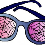 cob web glasses