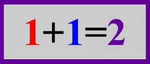 1+1=2